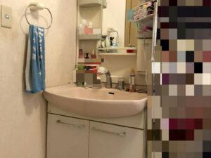 洗面化粧台改修