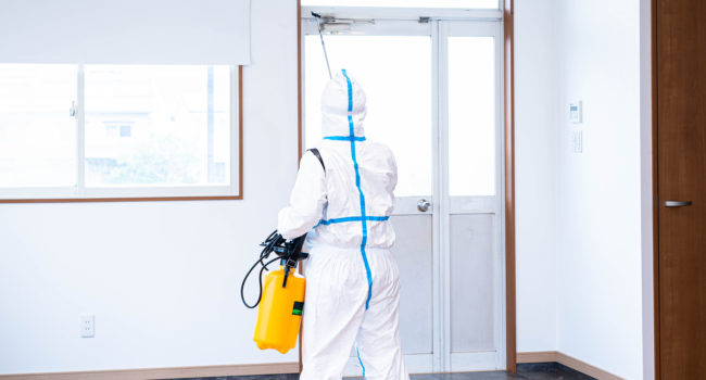 ウイルス除菌・消毒作業のプロ
